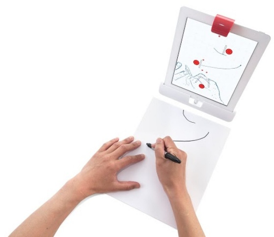 Osmo drawing game