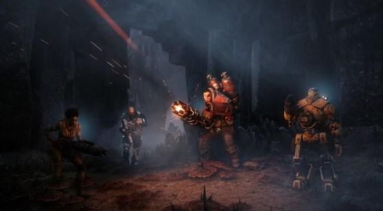 Evolve's hunters