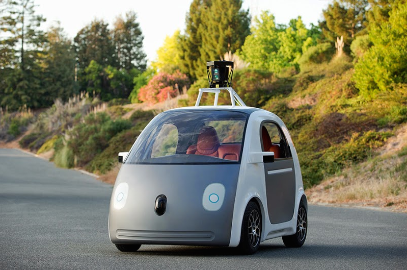 Google's latest self-driving car prototype.