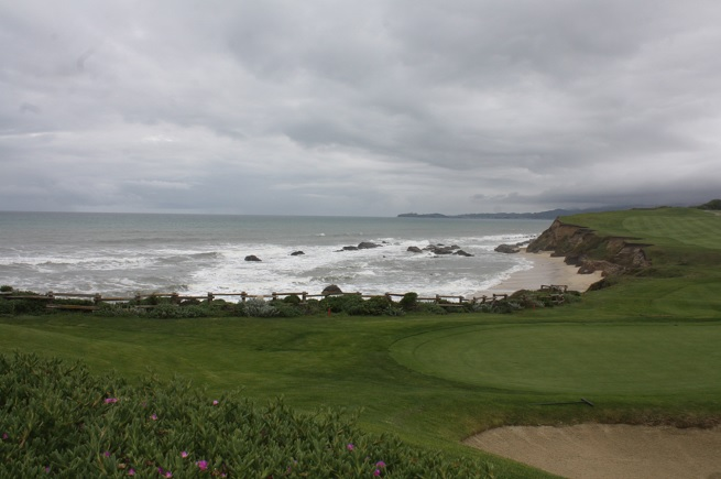 Half Moon Bay near Ritz Carlton