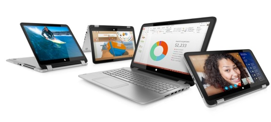 HP's new hybrid laptops