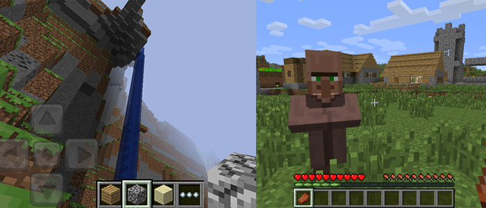 A Comparison of Minecraft for PC and Pocket Edition