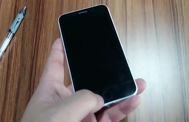 Rumored iPhone 6 dummy device