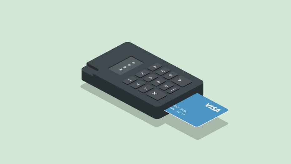 iZettle card reading hardware.