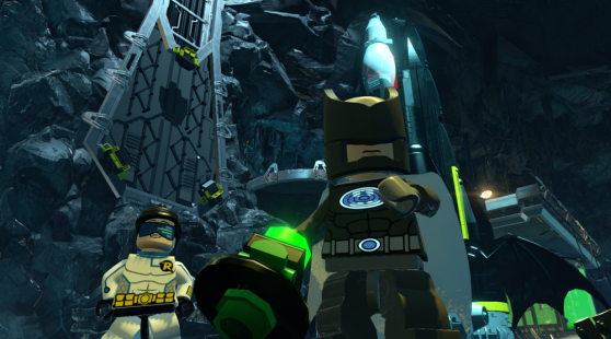 Lego Batman 3 features special suits.
