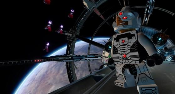 Lego Batman 3 Beyond Gotham Cyborg a Cyborg in Lego Batman 3