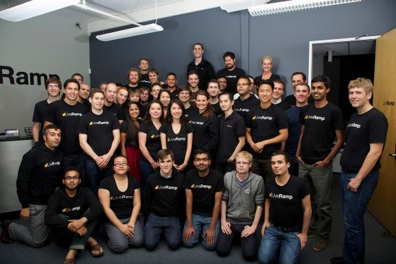 LiveRamp employees.