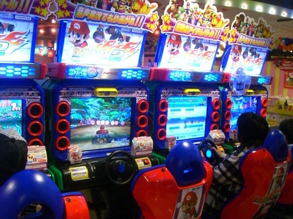 While arcades are become rare in the U.S., Japan still has a bustling arcade scene.