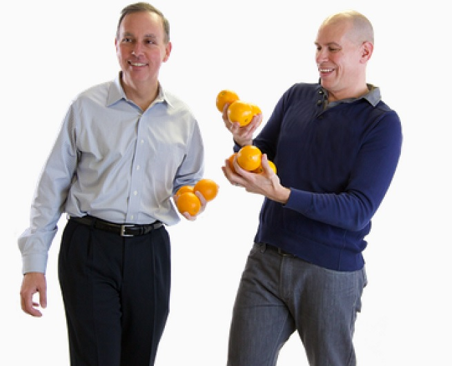 Brian Hinman and Jaime Fink, founders of Mimosa Networks