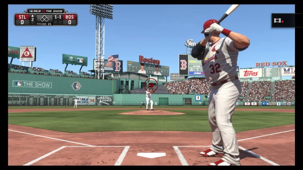 MLB 14 Screenshot 2