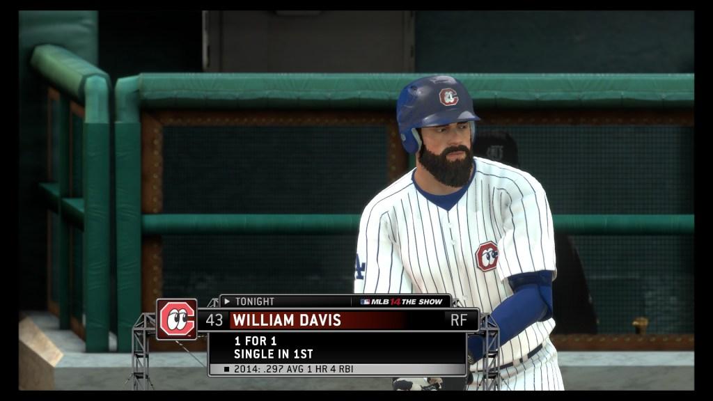 That beard is weird.