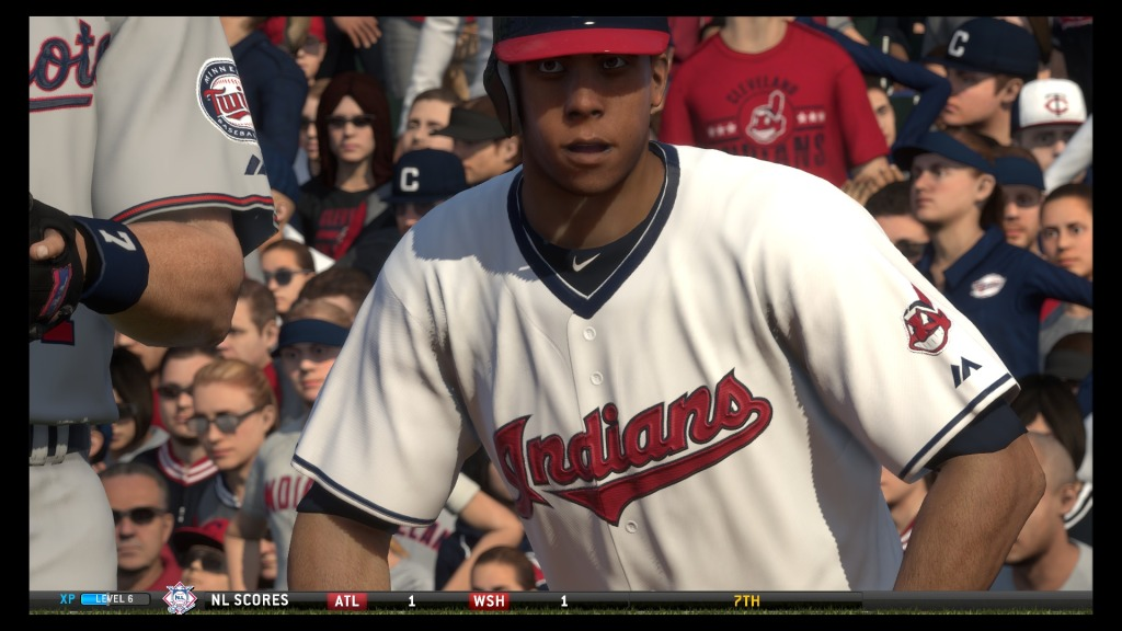 Michael Brantley from the Cleveland Indians.