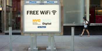 Google may win the contract to turn NYC pay phones into free Wi-Fi hotspots