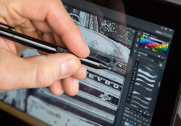Photoshop Make Photo Look Like Painting With Wacom Tablet