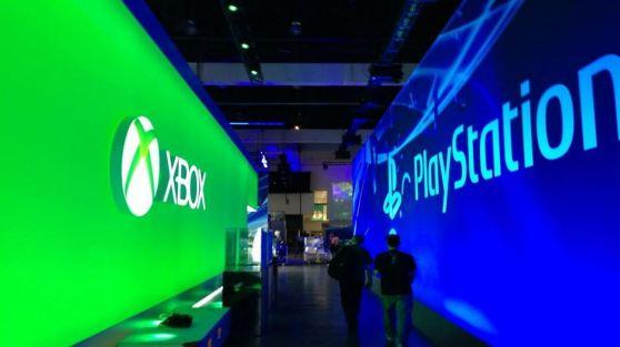 Sony and Microsoft head-to-head at last year's E3.