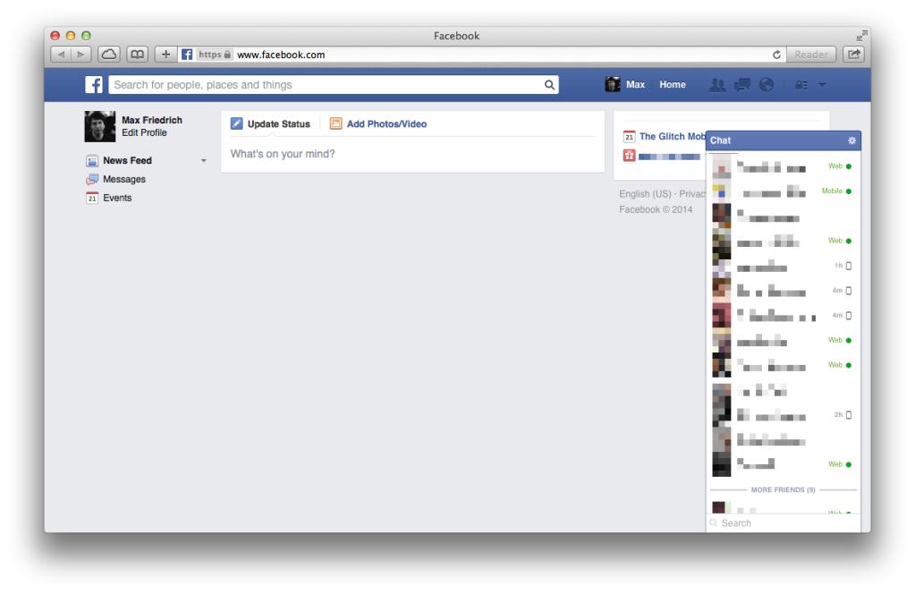 quiet-facebook