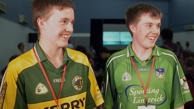 Conor and Darragh Griffin