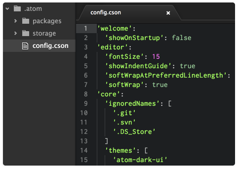 GitHub's 'Atom' text editor is now public, free, and fully open
