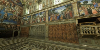 This interactive tour of the Sistine Chapel will mesmerize you