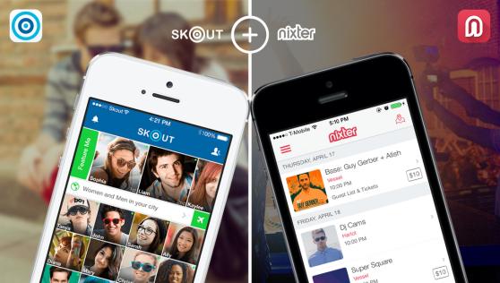 Skout's app meets Nixter's app.