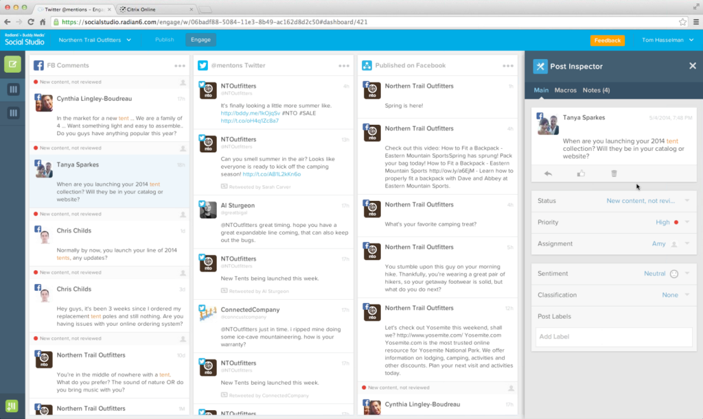 Social Suite is somewhat reminiscent of HootSuite's interface, perhaps