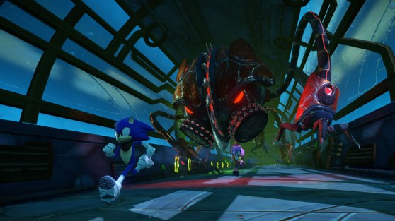 Sonic Boom boss run