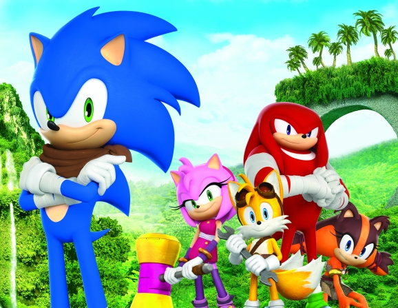 Sonic Boom character art