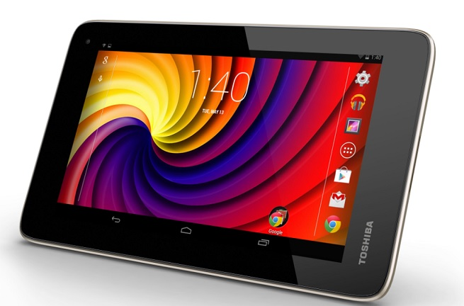 Toshiba Excite Go Android tablet.