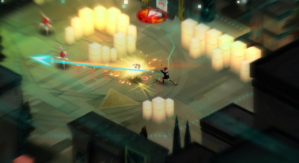 Transistor's isometric battles provided a surprising narrative benefit.