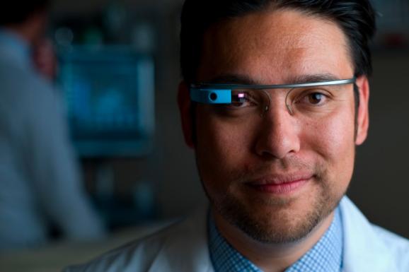 Dr. Warren Wiechmann, head of the Google Glass program at UC Irvine School of Medicine