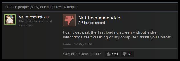 Watch Dogs Crashing