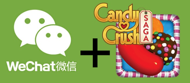 Candy Crush Saga will debut on We Chat