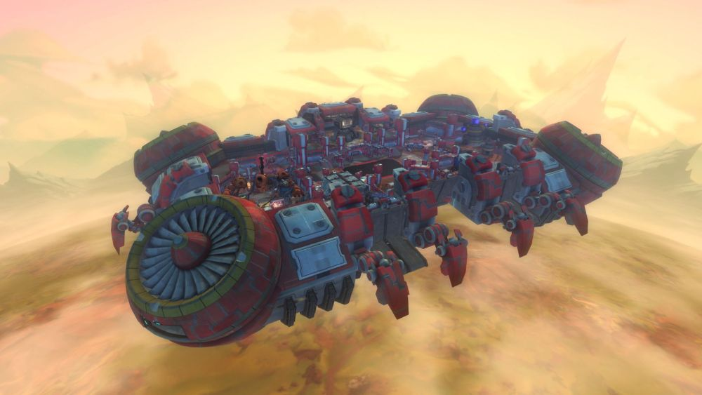 Homesteads (or battle arena War Plots) can be just as outlandish as anything else in WildStar