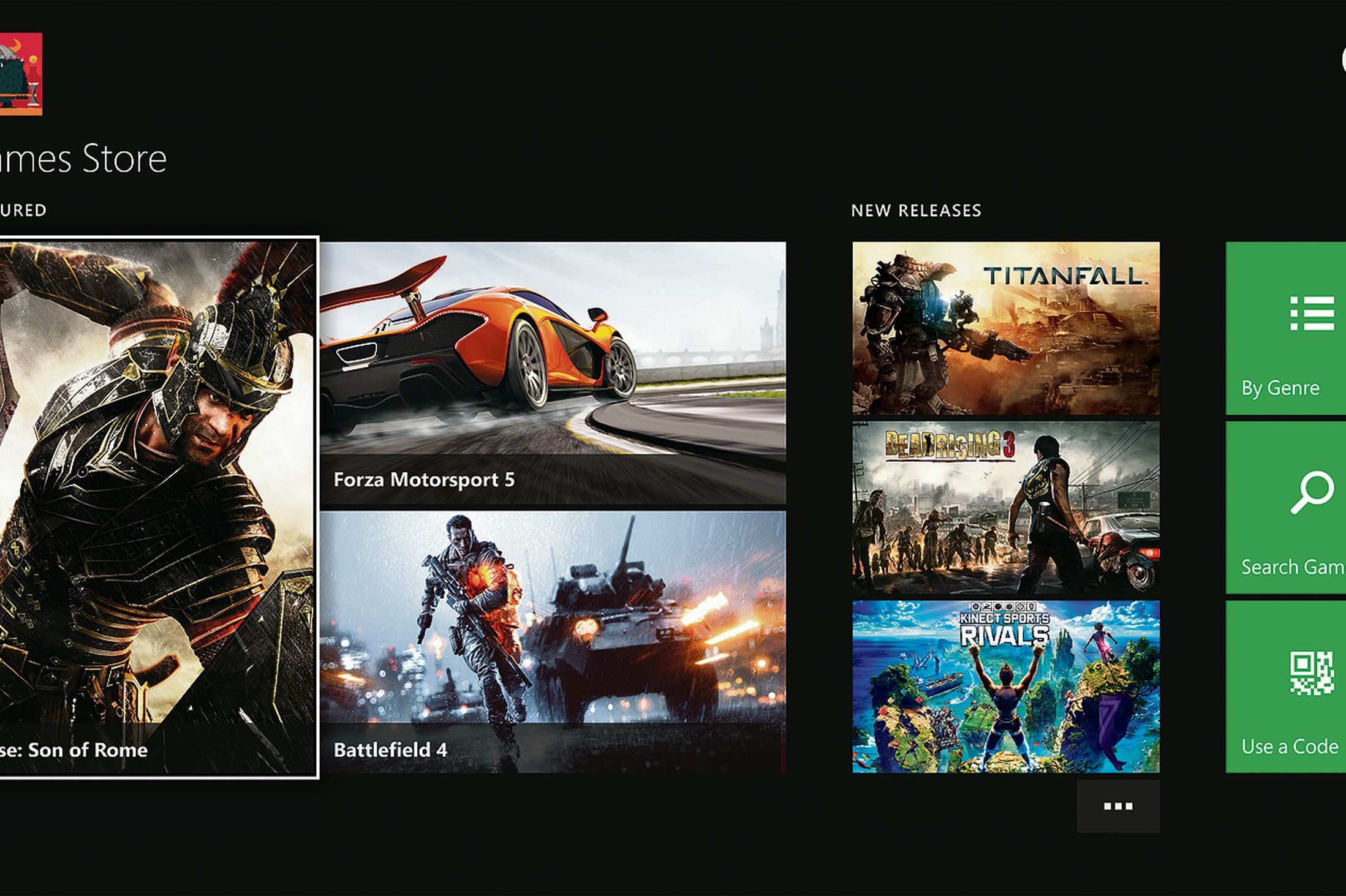games on xbox one store