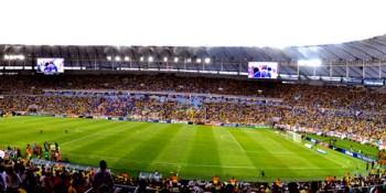 High-tech goal-line tech will reduce World Cup disputes. Yeah, as if