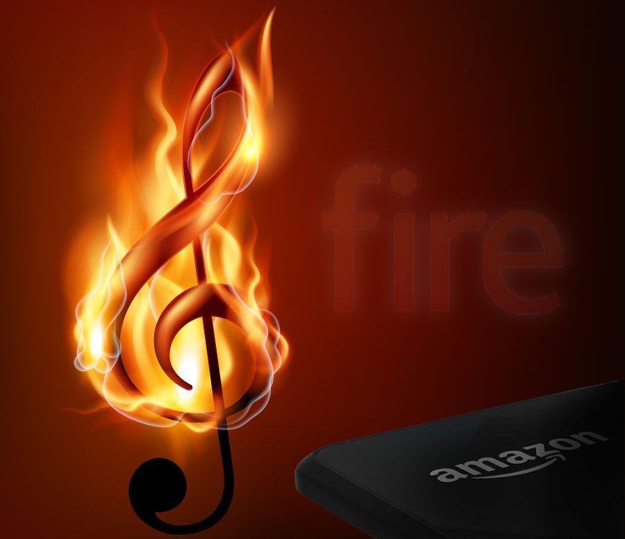 Amazon's Fire Phone for music