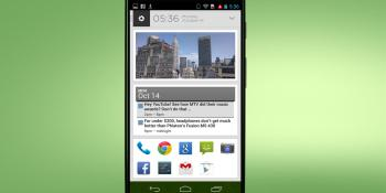 Yahoo finally launches Aviate, a location-sensitive, intelligent Android homescreen