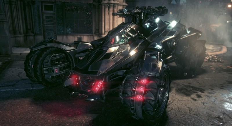 Batmobile, in battle tank mode