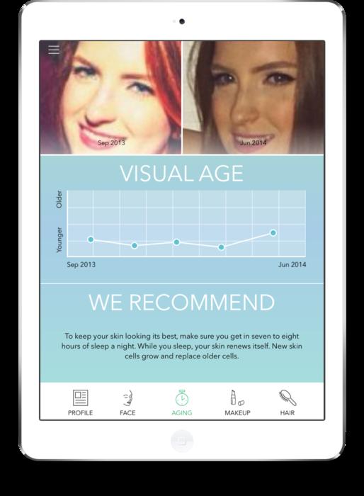 The Beautiful Me app.