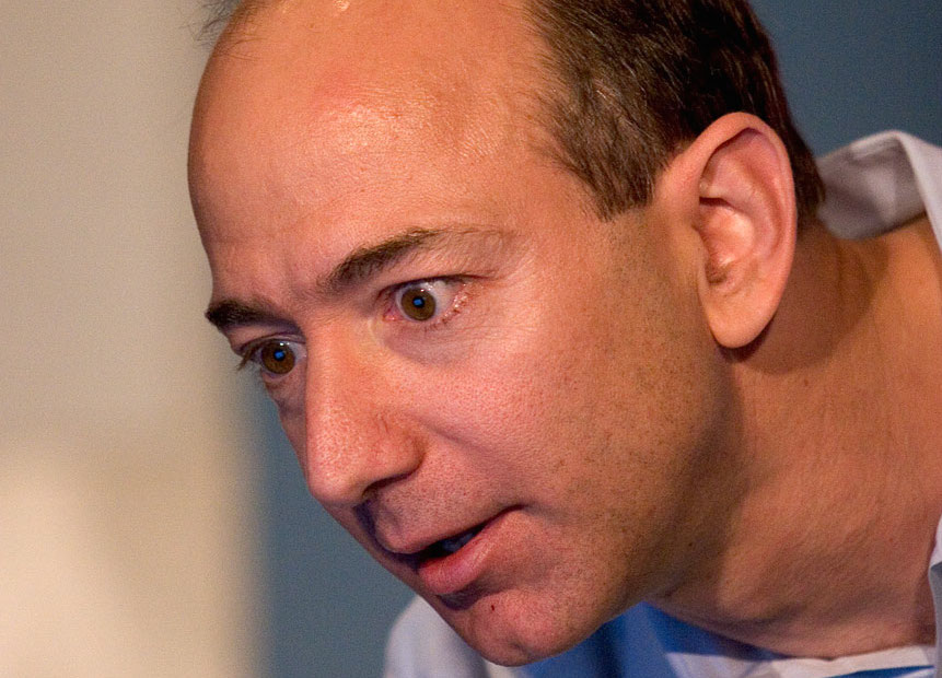 Amazon CEO Jeff Bezos is looking at something pretty amazing.