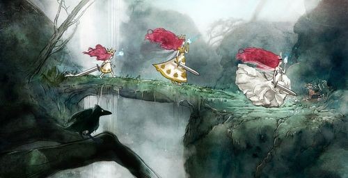 Child of Light stages