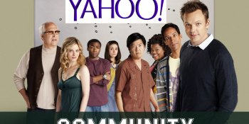 Yahoo makes its original TV play by giving 'Community' a sixth season