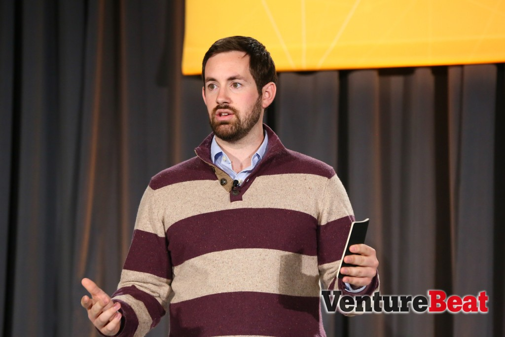 Mode co-founder and chief executive Derek Steer speaks at VentureBeat's 2014 DataBeat conference in San Francisco on May 19.