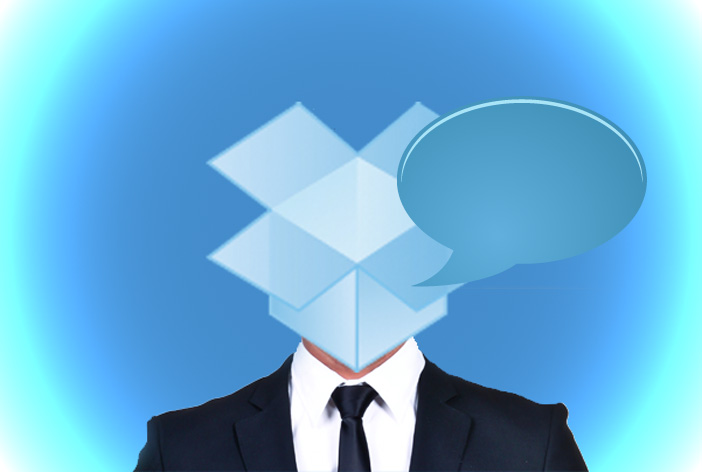 Dropbox messaging