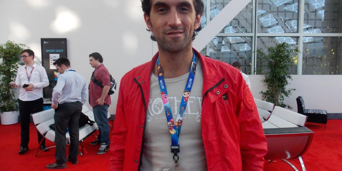 Josef Fares at E3 2014