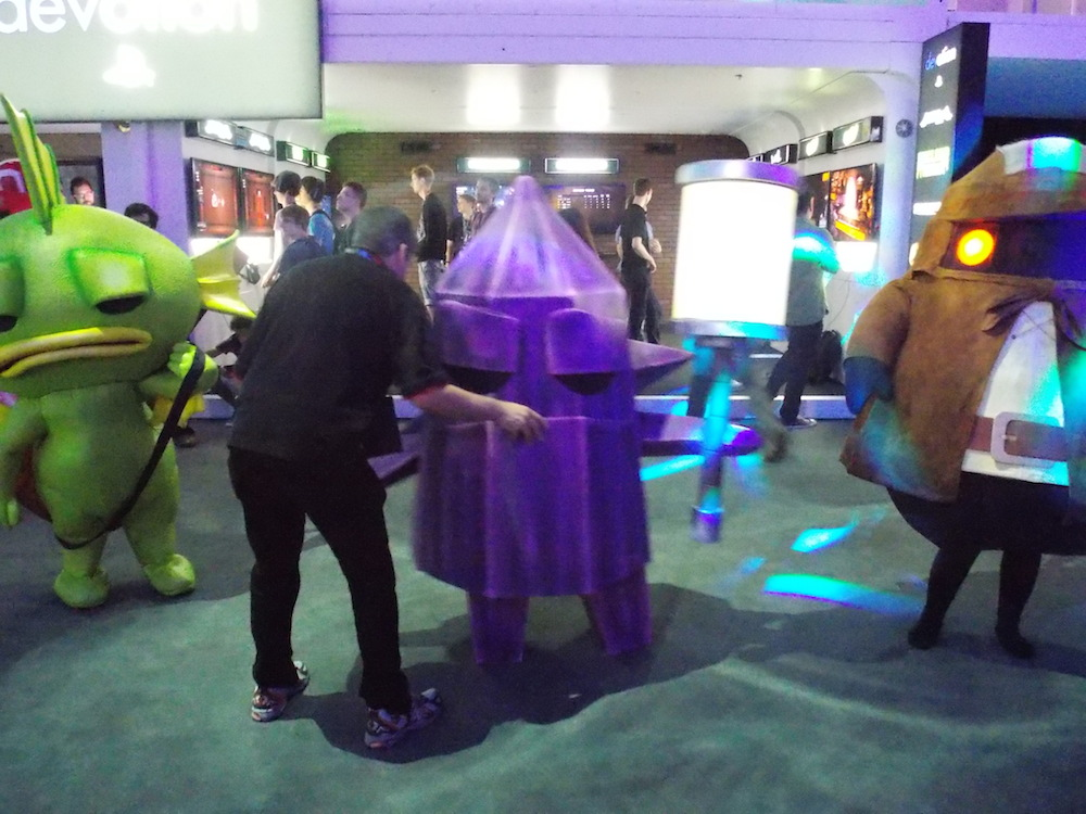 Phil the costume guy at E3 2014