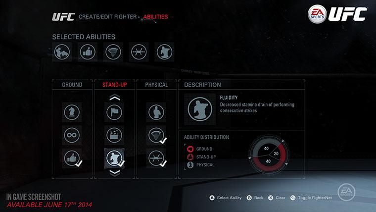 EA Sports UFC Career