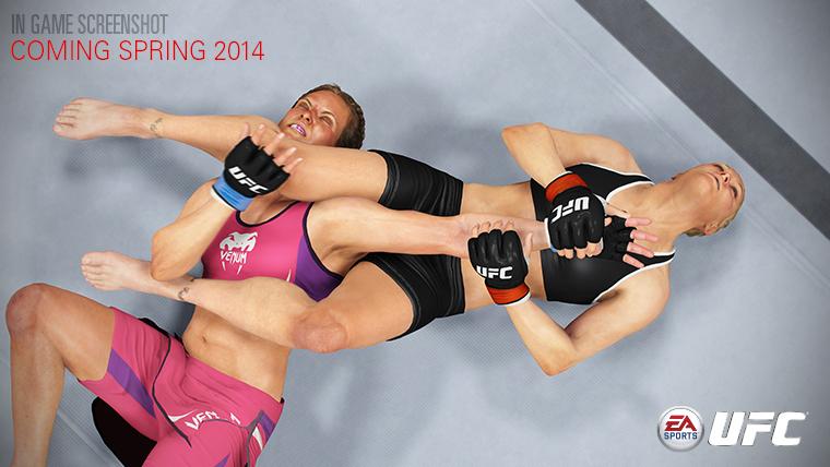 EA Sports UFC armbar