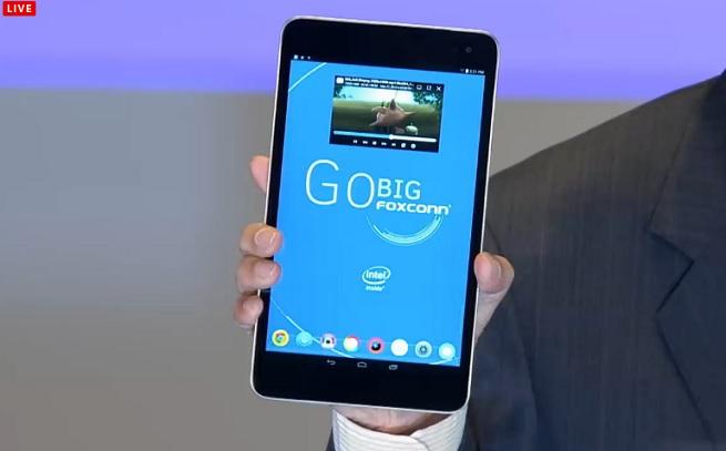 Foxconn Go Big tablet