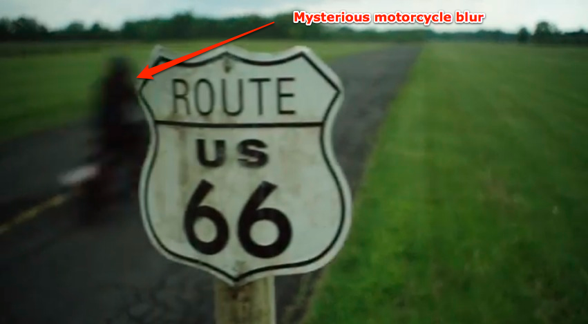 Harley-Davidson released a teaser video that shows a mysterious bike whiz by on a country road.